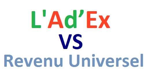 Ad'Ex VS Revenu Universel