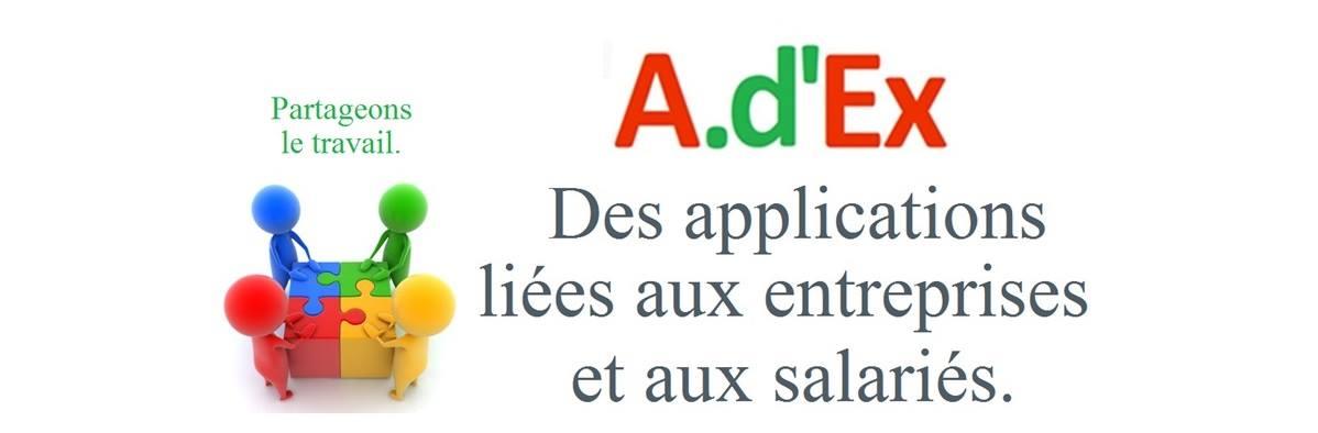 adex des applications liée aux entreprises et aux salariées