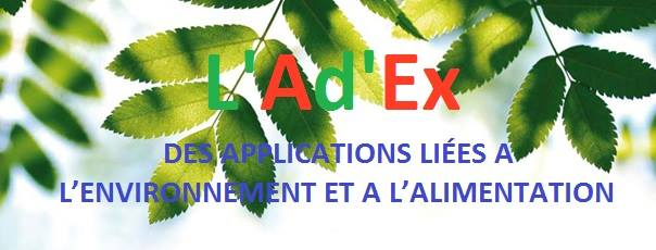 ladex des application liees a lenvironnement et a lalimentation